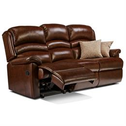 Sherborne Olivia Reclining 3 Seater Sofa (leather)