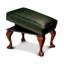 Kensington Leg Rest Stool (leather)