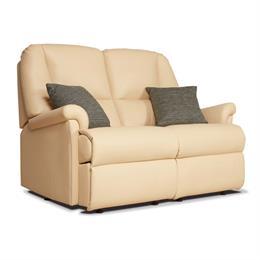 Sherborne Milburn Fixed 2 Seater Sofa (leather)