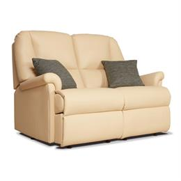 Sherborne Milburn Fixed 2 Seater Sofa (leather)