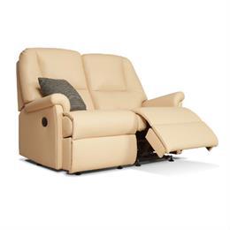 Sherborne Milburn Reclining 2 Seater Sofa (leather)