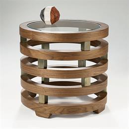 Replay Circular Lamp Table
