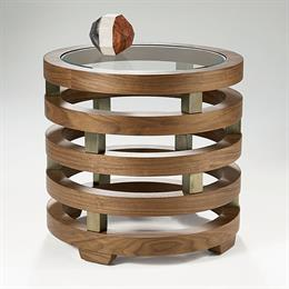 Replay Circular Lamp Table