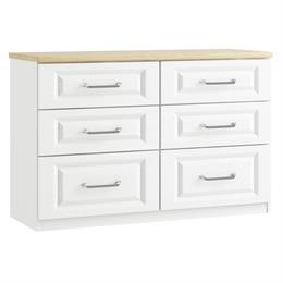 Sorrento 6 Drawer Twin Chest