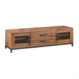 Abbey Large TV Unit with Glass Doors