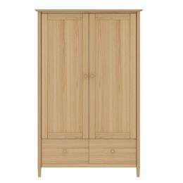 Anais Double Wardrobe with 2 Drawers