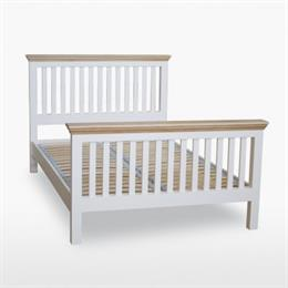 Coelo Slatted Bedstead with High Foot End