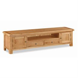 Crealey Extra Large Low Line TV Unit