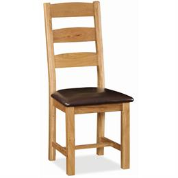 Crealey Slatted Dining Chair