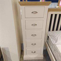 TCH Coelo 5 Drawer Narrow Chest