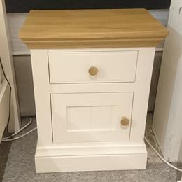 TCH Coelo 1 Door/Drawer Bedside (L/H hinged)
