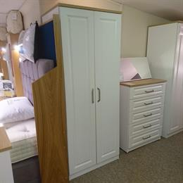SORRENTO Double Tall Wardrobe