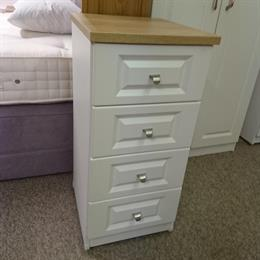 SORRENTO 4 Drawer Narrow Chest