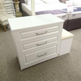 SORRENTO 3 Drawer Chest with 1 Deep Drawer