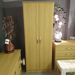 CAPRI Double Tall Wardrobe