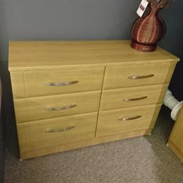 CAPRI 6 Drawer Twin Chest