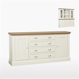 Coelo Large Centre Drawer Dresser Base