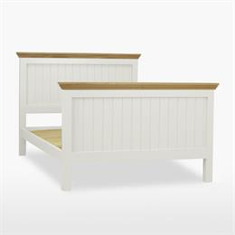 Coelo Panel Bedstead with High Foot End