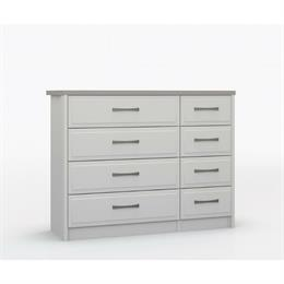 Lucerne 4 Drawer Double Chest
