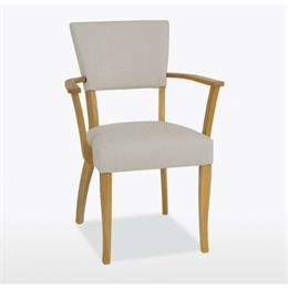 Lamont Catherine Carver Chair in Fabric