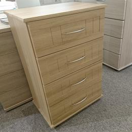 VOGUE 4 Drawer Midi Chest