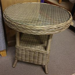 BRAMLEY Rattan Round Table