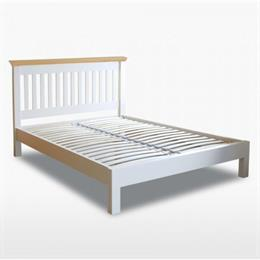 Coelo Double Slatted Bedstead with Low Foot End