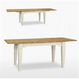 Coelo Small Extending Dining Table with 2 Extension Leaves