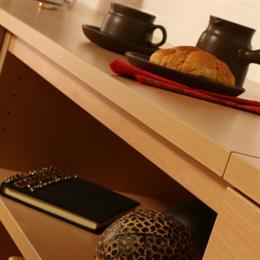 Compton One Piece Desk Worktop