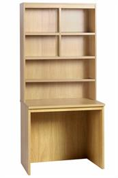 Compton Medium Desk 850mm Wide with OSF Hutch