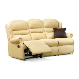 Sherborne Ashford Reclining 3 Seater Sofa (leather)