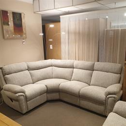 BARLOW 1 plus 2 Corner Sofa with Manual Recliners