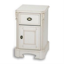 Amore One Drawer/Door Bedside Chest