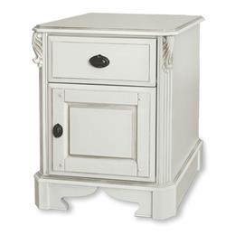 Amore One Drawer/Door Wide Bedside Chest