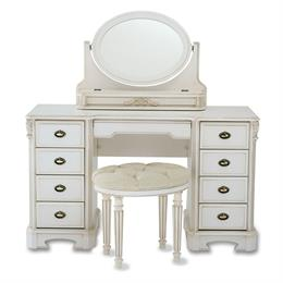 Amore Nine Drawer Dressing Table