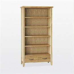 Windsor Tall Bookcase with 2 Drawers