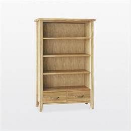 Windsor Medium Bookcase with 2 Drawers