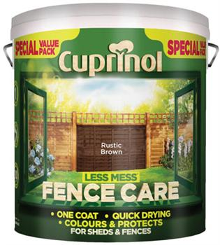 Cuprinol Less Mess Fence Care -  6L