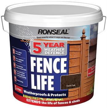 Ronseal 5yr Weather Defence Fencelife - 5L