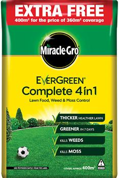 Miracle Gro Evergreen Complete 4 in 1