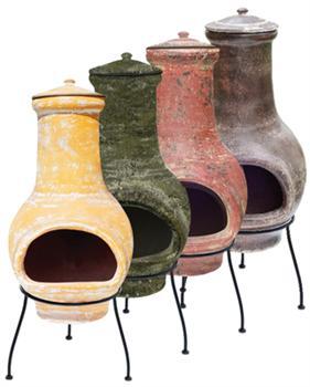 Essentials Medium Clay Chimenea