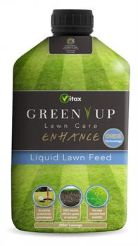 Green Up Enhance Liquid Lawn Feed Vitax 1 Litre