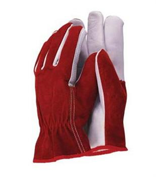 abdcdf021 Premium Leather & Suede Gardening Gloves Town & Country from Holbury ...