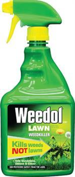 Weedol Lawn Weedkiller 800ml RTU spray