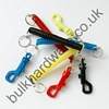 SPIRAL KEY HOLDER - assorted colours