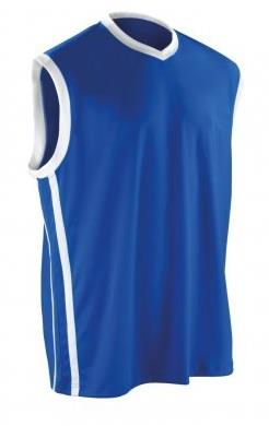 Spiro Basketball Vest-Royal