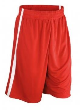 Spiro Basketball Shorts-Red