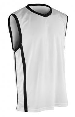 Spiro Basketball Vest-White