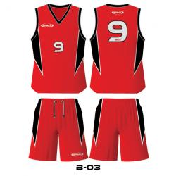 d-sports BB03 Basketball Uniform