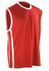 Spiro Basketball Vest-Red